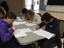 Grauer Middle School Team Competes at Math Olympiad Competition