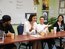11th Grade History Class Hosts Immigration Panel