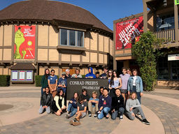 9th Grade English Class Visits Old Globe Theater