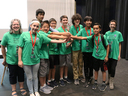 "Grauer Middle School Robotics Team Wins ""Core Values"" Award"
