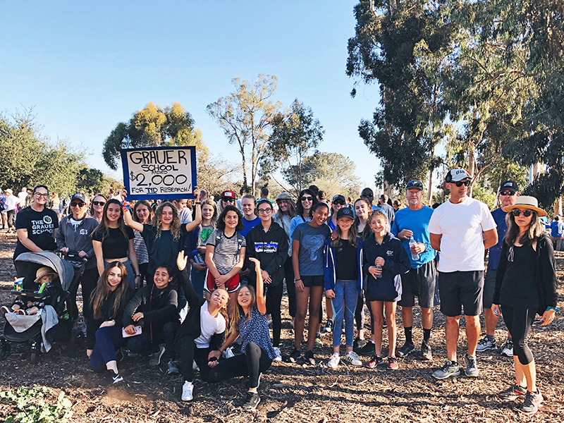 Grauer Team Participates in JDRF One Walk